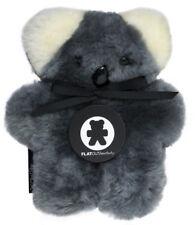 Babykoala Flatoutbear Small Australian Sheepskin Teddy Bear Size 18cm X 16cm or