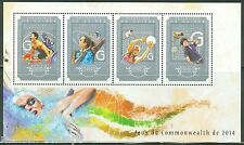 GUINEA 2014 COMMONWEALTH GAMES  SHEET  MINT NH