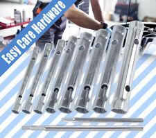 10 PC PCS Box Tube Spanner Tubular Tap Plumbing Socket Wrench Set 6 - 22 mm New