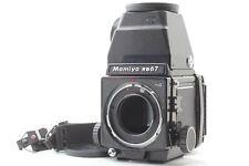 [Near MINT] Mamiya RB67 Pro S ProS w/ CDS finder + 120 Film Back from JAPAN #395