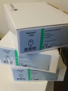 COLOPLAST 1789 Assura Pediatric Urostomy Pouch 10Ct Box