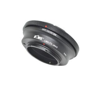 KIWI FOTOS FD-M4/3 Adapter Canon Fd Lens To Panasonic M4/3 Mft Camera