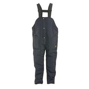 RefrigiWear Men's Iron-Tuff Insulated High Bib Overalls -50F Cold Protection
