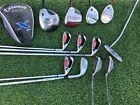 Complete Mens Callaway Golf Club Set R-Flex 12 Clubs, X460 Driver, 2008 Irons