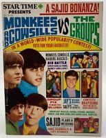 Star Time Magazine Oct 1968 Monkees Star Trek Doors Jefferson Airplane 258DAL