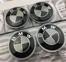 For BMW 1 3 5 6 7 Series Wheel Center Cover Emblem Sign Logo Hub Cap Set 4 68MM