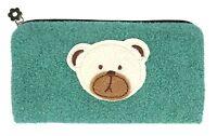 Bolsa Oso Caja de Lápices Muchos Colores Teddy Neceser Kleien Bolsa