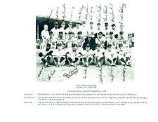 1959 BUFFALO BISONS 8X10 TEAM PHOTO INTERNATIONAL LEAGUE CHAMPIONS NEW YORK USA