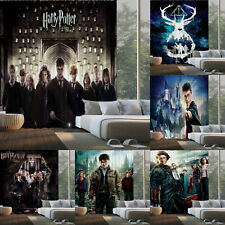 Harry Potter Blackout Window Curtain Panels Living Room Bedroom Drapes 2 Panel
