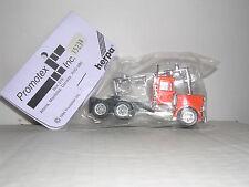 "HERPA #15233  Peterbilt 10 Wheel Cab ""Orange"" H.O.Gauge"