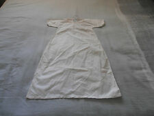 Victorian Infant  Hand Stitched Cotton Tunic
