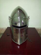 Medieval Knight Armor Crusader New Templar Helmet  with liner by Vimhari