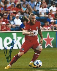 Aleksandar Katai Signed 8x10 Photo Chicago Fire SC MLS Soccer Autographed COA