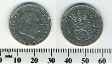 Netherlands 1969 - 1 Gulden Pre-Euro Nickel Coin - Queen Juliana