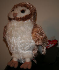 Ty Beanie Baby SOREN the Owl ~ Legend of the Guardians Owls of Ga'hoole ~ MWMT'S
