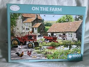 Brand New Otter House  1000 piece Jigsaw Puzzle Animals in the Farmyard 🧩