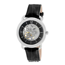 NEW KENNETH COLE WATCH for Men * AUTOMATIC Transparent Dial * Leather * KC8017