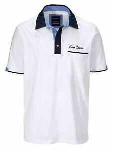 Babista, Poloshirt mit Hemdkragen in weiß, Gr. 50