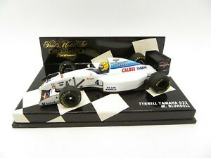 Tyrrell Yamaha 022 Mark Blundell #4 1994 MINICHAMPS 1/43 F1 Formula 1 IN Box