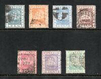 British Guiana - SG# 126 - 132 Used   /    Lot 1120090