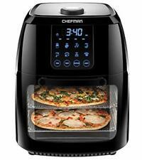 Chefman 6.3 Quart Digital Air Fryer+ Rotisserie, Dehydrator, Convection Oven