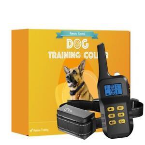 Antibell & Ferntrainer Erziehungshalsband Hunde Antibark Vibration Ton 1000 M