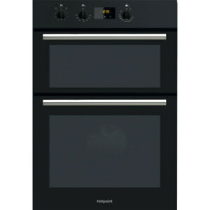 Hotpoint DD2540BL Built-In Double Electric Fan Assisted Oven, Top Oven & Grill