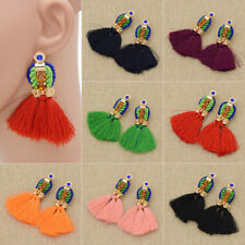 Women Tassel Earring For Women Fashion Boho Braided Unique Ethnic Dangle 1 Pair