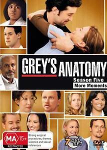 Grey's Anatomy SEASON 5 : NEW DVD