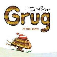 Grug at the Snow By Ted Prior Paperback Free Shipping