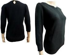 Marks and Spencer No Pattern Button 3/4 Sleeve Women's Jumpers & Cardigans