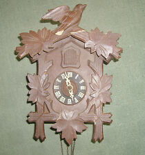 Vintage Wooden Black Forest Antique Clocks
