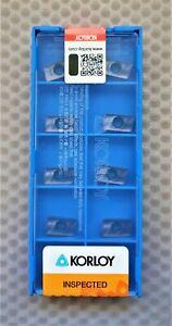 10x KORLOY CARBIDE INSERTS APMT11T3PDSR-MM  Grade PC5300