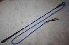 THOMEY NATURAL HORSE TRAINING HANDY STICK ~ SUPERB BALANCE~HIGH QUALITY ~ BLUE