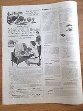 1959 Magnus Grand Electric Chord Organ Ad
