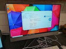HP, Intel Core i5 8GB RAM 256GB SSD 27 Inch All in One Desktop PC 27-dp0010