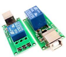 Programmable usb relais smart home 1 Canal C++ lib et DLL Effection robotic