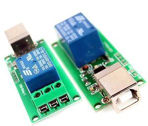 Programmierbarer USB Relais Smart Home 1 Kanal C++ lib und dll Türöffner Robotic