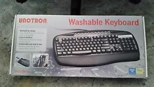 Unotron S5100K Washable Keyboard *USB or PS/2* New In Box NIB