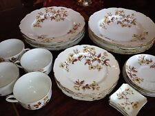 Antique Hand Painted China  HAVILAND LIMOGES 4 6-PIECE SETTINGS Gold CFH1001