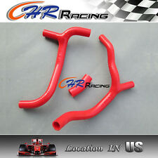 FOR HONDA CRF450R CRF 450 2009-2012 2010 2011 SILICONE RADIATOR HOSE RED