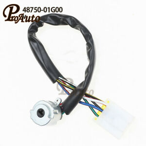 Ignition Switch 48750-01G00 for Nissan 240SX D21 Pathfinder Pickup 4875001G00