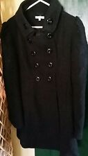 Valleygirl black coat size 8