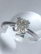 Natur Diamant Ring  Gold 9 K 375 Solitär mit  1.06 ct Diamant Vvs2 G