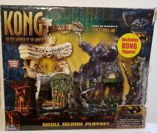 King Kong 8th Wonder of the world Skull Island Playset -Playmates #66047 - 2005