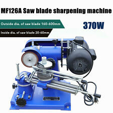 New listing 370W Mf126A Carbide Saw Blade Sharpener Machine Mill Sharpener Grinding Machine