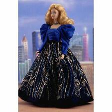 1986 Blue Rhapsody Barbie porcelain doll NRFB, poor box condition