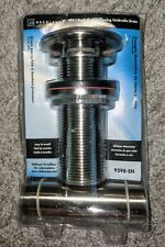 New NOS Decolav Satin Nickel Push Button Closing Umbrella Drain 9298-SN