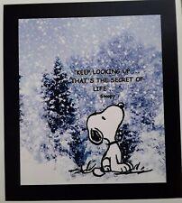 Peanuts ☆ Charlie Brown & Snoopy ♡ Keep looking Up ♡ Magnet