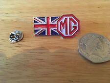 MG CLUB British Union Jack Enamel Pin Badge,Racing,Type,Midget,GT,Metro,5,6,F,ZR